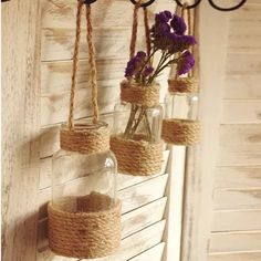 Cheap Vases on Sale at Bargain Price, Buy Quality garden pond decorations, de. Jute Crafts, Diy Home Crafts, Diy Kitchen Decor, Diy Room Decor, Design Diy, Pond Decorations, Diy Para A Casa, Cheap Vases, Homemade Home Decor