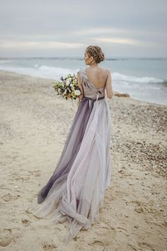 stunning beach wedding