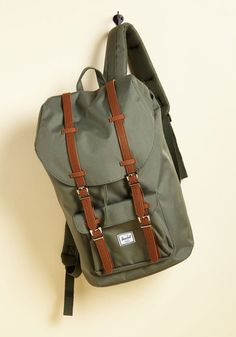 cd6e42556cc6 Expedition Mission Backpack in Moss. Your goal to trot every corner of the  globe with