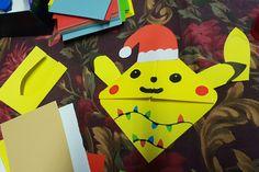 Záložky do knihy Origami, Pikachu, Fictional Characters, Origami Paper, Fantasy Characters, Origami Art