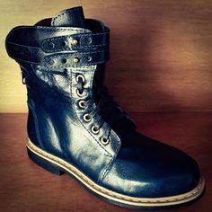 Dr. Martens, Combat Boots, Collection, Shoes, Fashion, 7 Dwarfs, Female Dwarf, Leather, Over Knee Socks