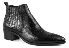 Modern Vice Handler boot - Black Croc