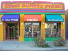 Cinco Puntos Press in El Paso, a Top Ten literary destination