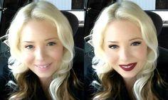#Vampy  #makeup look! https://glamst.com/virtualtester/looks/20642 Create yours at glamst.com! #glamedupsummer via @glamstapp