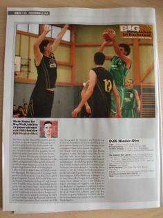 """Großer Sport: Nieder-Olm Basketball ist """"BIG""""."""