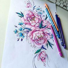 follow-the-colours-Olga-Koroleva-tattoos-botanicas-10.jpg (620×620)