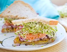 sprout-lovers' sandwich omgosh @Nicole Leigh