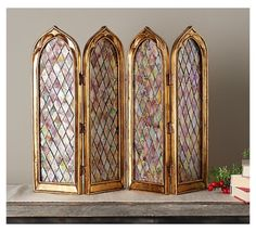 Cathedral Mirror, Valerie Parr Hill, Mirror Panels, Decorative Screens, Living Room Decor, Dining Room, Glass Screen, Accent Pieces, Foyer