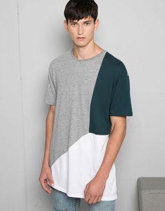 T-shirts - Man - Man - Bershka United Kingdom Legit Clothing, Motocross Clothing, Polo Shirt Style, Outfits Hombre, Pant Shirt, Mens Tees, Men Sweater, Men Casual, Mens Fashion