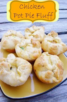 quick and easy chicken pot pie fluff recipe