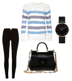 """""""Sin título #12"""" by karlaroman-i on Polyvore featuring River Island, Barbour, CLUSE y Dolce&Gabbana"""