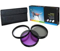 PLR Optics 49MM High Resolution 3-piece Filter Set (UV, Fluorescent, Polarizer) For The Sony Alpha NEX-C3, NEX-7, NEX-6, NEX-5T, NEX-5N, NEX-5R, NEX-5, NEX-3, NEX-3N, NEX-F3, ALPHA A3000, A5000, A5100, A6000, 7 II, 7S, a7, a7R Digital SLR Cameras Which Have The Sony E Series (16mm, 18-55mm, 50mm, 55-210mm, 30mm) Lens PLR http://www.amazon.com/dp/B00AD7XSE0/ref=cm_sw_r_pi_dp_vqnWvb1H1CJXJ