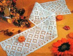 crochet em revista: entremeio crochet