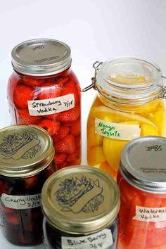 Fruit Infused Vodka? Or Vodka Infused fruit?