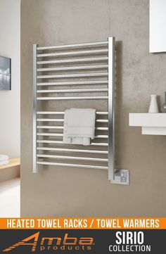 Sirio Collection - S2942P | Polished Finish with Digital Heat Controller