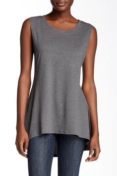Sleeveless Hi-Lo Knit Tank by Painted Threads on @nordstrom_rack