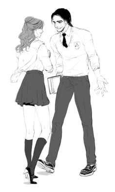 Elise and Arno Dorian, School Creed :D | Tumblr