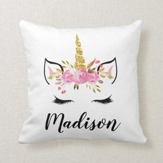 add any name change colour Personalised Embroidered Princess Crown cushion
