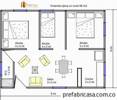 Three Bedroom House Plan, Bedroom Floor Plans, House Floor Plans, Home Design Plans, Plan Design, Hotel Room Design, Tower House, Apartment Plans, House Blueprints