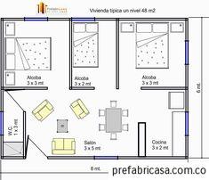 Plantas de casas simples gratis simple for Cuanto cuesta pintar un piso de 100 metros