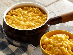 Stovetop Mac-n-Cheese recipe from Alton Brown via Food Network