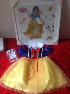 Snow White Costume Baby dress,baby dress,toddler gir,Baby Tulle Dress by MyBeautifulGarden on Etsy