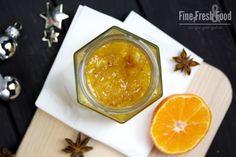 Vánoční mandarinka marmelády