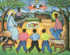 Nativity - TOUSSAINT AUGUSTE - Haiti