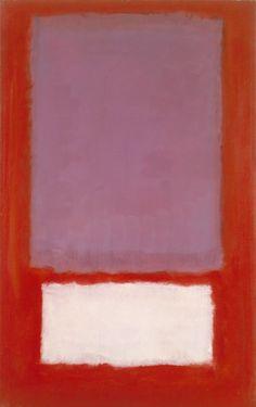 dailyrothko: Mark Rothko, No. 5, 1958. Óleo y acrílico sobre lienzo, 66 x 41 3/8 pulg.