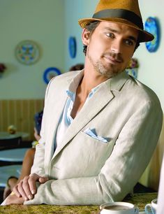 No one rock the tropical island wear like Neal Caffrey can