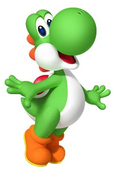 Cause, hey, what's a Mario without Yoshi? Yoshi is without a doubt one of the best Mario power ups. Super Mario World, Super Mario Bros, Super Mario Birthday, Mario Birthday Party, Super Smash Bros, Yoshi Drawing, Mario Party 7, Mario Y Luigi, Video Game Characters
