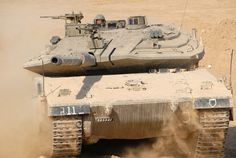 Top 10 Of The Worlds Best Tanks - Merkava Country of origin: Israel Speed ​​(max.): 55 km / h Main gun: 120 mm