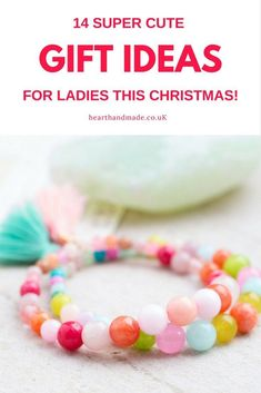 Beautiful Jewelry gifts for her - Are you struggling for cute gift ideas for crafty souls in your life? Get your hands on this multi coloured crochet scarf kit full of soft yarn! Your friend can learn how to crochet easily & give the perfect christmas gif Last Minute Christmas Gifts, Perfect Christmas Gifts, Christmas Holiday, Christmas Crafts, Cute Gifts, Diy Gifts, Unique Gifts, Cheap Gifts, Mason Jar Diy
