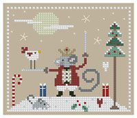 The Floss Box | The Mouse King Cross Stitch