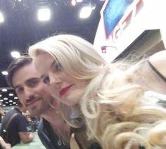 Colin & Jennifer at Comic Con 2015