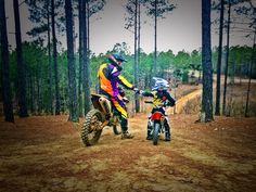Dirt Bikes, fox racing, fly racing, rockstar, ktm, orangebrigade, family photo, cartermansuperfox
