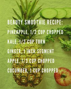 Beauty Smoothie By Erica Davidson