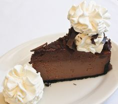 Chocolate Mousse Cheesecake - The answer to all your problems #yum #solution