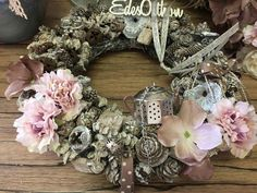 Floral Wreath, Wreaths, Autumn, Home Decor, Yule, Homemade Home Decor, Door Wreaths, Fall, Deco Mesh Wreaths