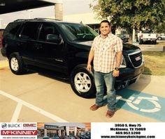 #HappyBirthday to Devin from Ricky Barnes at McKinney Buick GMC!  https://deliverymaxx.com/DealerReviews.aspx?DealerCode=ZAKC  #HappyBirthday #McKinneyBuickGMC