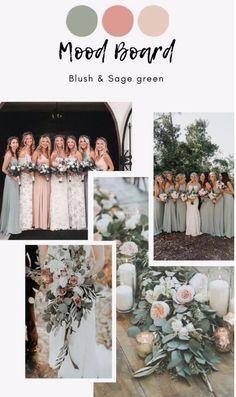 Cute Wedding Ideas, Wedding Themes, Wedding Decorations, Wedding Inspiration, Wedding Color Pallet, Wedding Color Schemes, Champagne Wedding Colors Scheme, Sage Green Wedding, Wedding Mood Board