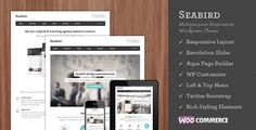 Seabird - Multipurpose Responsive WordPress Theme - Business Corporate