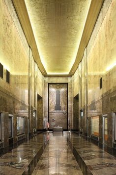Lobby ~ The Empire State Building ~ Borough of Manhattan ~ New York City ~ New York Manhattan New York, Empire State Building, Art Nouveau, Up House, Art Deco Design, Best Cities, Architecture Details, Travel Usa, New York City