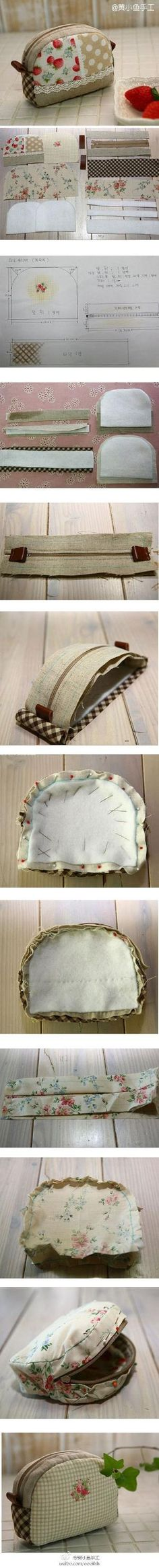 Cute pouch photo tutorial. by Anu Leppänen