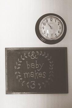 cute, simple baby shower
