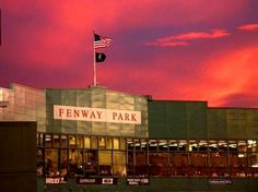 Fenway Park in Boston. Home to the Boston Red Sox Baby! Boston Red Sox, Boston Sports, In Boston, Visit Boston, Greater Boston, Fenway Park, The Places Youll Go, Places To See, A Lovely Journey