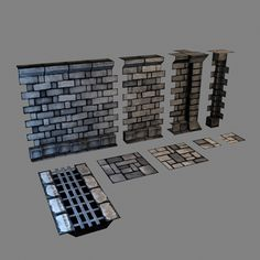 game assets pipeline modular set - Google Search