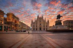 Fotografía Milano Ready For Expo por Luca Libralato en Expo 2015, Trophy Wife, Some Pictures, Travel Photos, Cathedral, Places To Visit, Louvre, Urban, Building