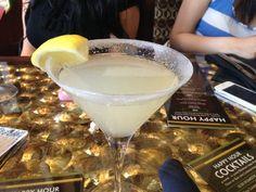 Lemon Drop 1 Drink granulated sugar lemon wedge 1 1/2 oz Citron Vodka ...