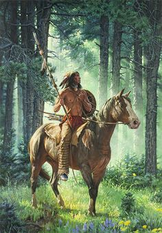 Chuck Ren Sun Seeker HD Print Oil Painting Wall painting Wall Art Picture For Living Room painting no frame Native American Horses, Native American Warrior, Native American Paintings, Native American Pictures, Native American History, Indian Paintings, West Art, American Indian Art, Indigenous Art